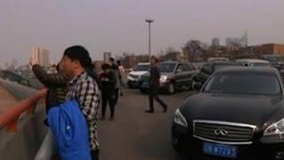 Kolejne latające miasto było widziane nad Chinami