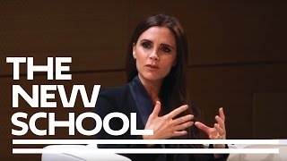 getlinkyoutube.com-Victoria Beckham at Parsons School of Design