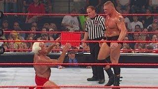 getlinkyoutube.com-Brock Lesnar vs. Ric Flair: Raw, July 1, 2002