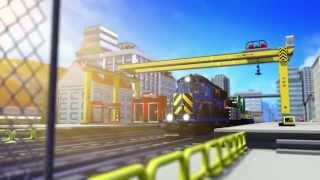 getlinkyoutube.com-Train Ride - LEGO CITY - Mini Movie