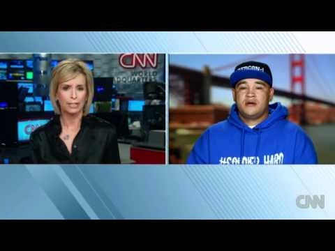 CNN TV NEWS- VALLEJO Artist SOLDIER HARD Story and Interview