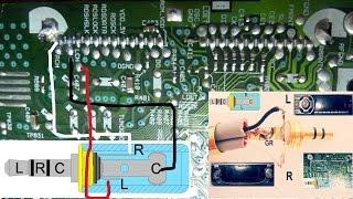 getlinkyoutube.com-entrada auxiliar para un auto estéreo antiguo / reciclar un auto estereo