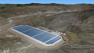Inside Tesla's enormous battery factory