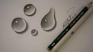 getlinkyoutube.com-تعلم رسم قطرات الماء بالرصاص