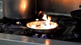 getlinkyoutube.com-How to Prevent & Douse a Kitchen Fire | Deep-Frying