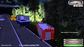 getlinkyoutube.com-LS11 Feuerwehreinsatz Verkehrsunfall auf Autobahn
