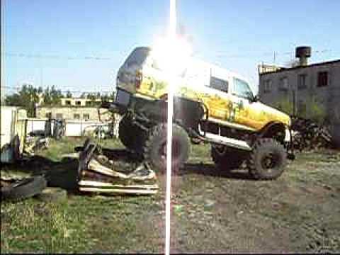 Супер Land Cruiser: через машину — 2