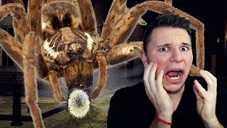 getlinkyoutube.com-DEATH BY MONSTER SPIDER?!?! | Singularity Part 4