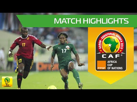 Burkina Faso vs Angola - Orange Africa Cup of Nations, GABON-EQUATORIAL GUINEA 2012
