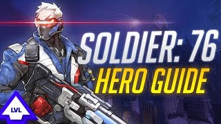 getlinkyoutube.com-OVERWATCH: Soldier 76 Hero Guide! (Everything You Need to Know About Soldier: 76)