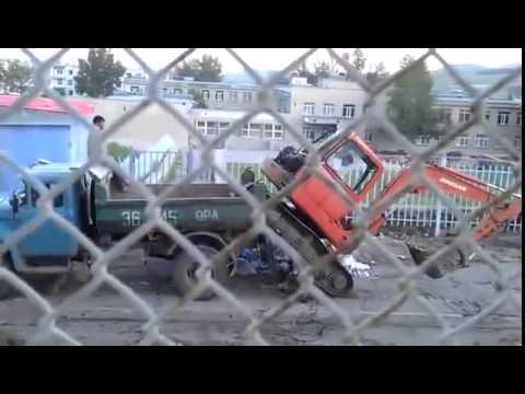 Toyota Cami пролетела 100 метров ДТП! Авария! Видеорегистратор