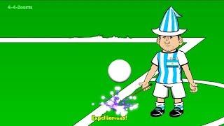 getlinkyoutube.com-💫IRAN vs ARGENTINA 0-1💫 by 442oons (Lionel Messi World Cup 2014 Cartoon 21.6.14)