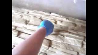 getlinkyoutube.com-Производство,Как сделать ? Как покрасить ?Покраска декоративного камня (аэрограф)