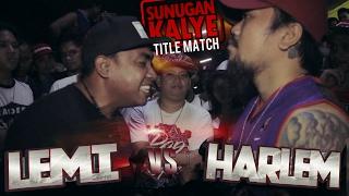 getlinkyoutube.com-SUNUGAN KALYE - Harlem vs Lemi  ( TITLE MATCH )
