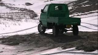 getlinkyoutube.com-軽トラ リフトアップ クロカン遊び Japanease MIni Truck