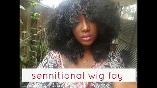 getlinkyoutube.com-Sensationnel Instant Fashion Wig : Fay Styling