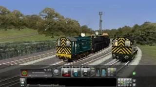 getlinkyoutube.com-Train simulator NYMR Autumn steam gala