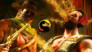 "getlinkyoutube.com-MY UNDEFEATED RECORD - Mortal Kombat X ""Erron Black"" Gameplay (MKX Online Ranked)"