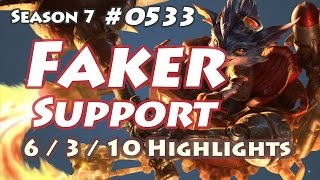 SKT T1 Faker - Rumble Support