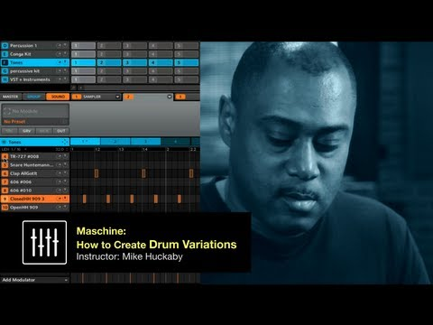 Mike Hucakaby + Dubspot! Maschine Tutorial: How to Create Drum Variations