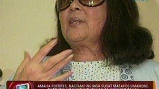 getlinkyoutube.com-Amalia Fuentes, nagtamo ng mga sugat matapos umanong bugbugin ng nangungupahan sa   kanyang bahay