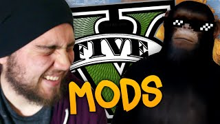 getlinkyoutube.com-FUNNY MOMENTS COM MODS NO GTA V