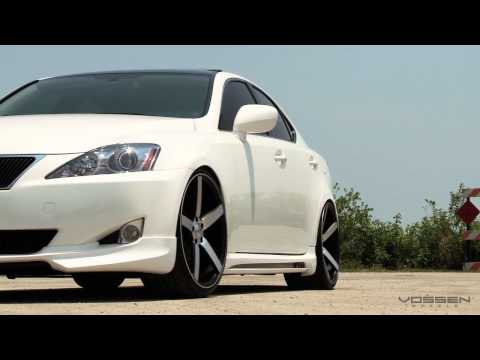 "Lexus IS250 on 20"" Vossen VVS-CV3 Concave Wheels / Rims"