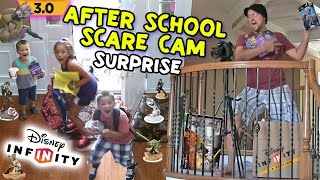 getlinkyoutube.com-Disney Infinity 3.0 AFTER SCHOOL SCARE CAM SURPRISE!  Dad's Box Rage (Wave 1)