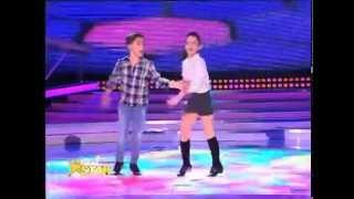 getlinkyoutube.com-Jasmine și Rareş impresionează juriul de la Next Star printr-un număr excepțional de dans!
