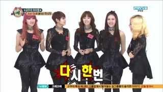 getlinkyoutube.com-Rania in Weekly Idol - Random Play Dance, Part 1/2 [CC: ENG SUBS]