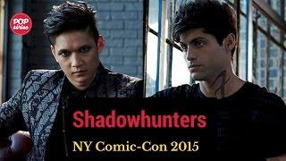 NYCC 2015: Entrevista com Harry Shum Jr. e Matthew Daddario de Shadowhunters