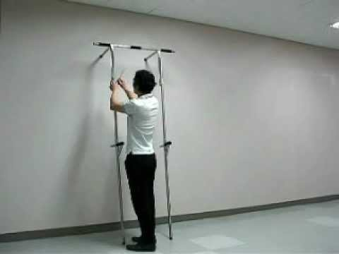 Semi Anytube tower v12; portable pull iron gym door chinning chin up horizontal exercise dip bar