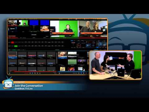 EXCLUSIVE! NewTek TriCaster Mini Hands On