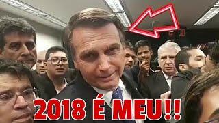 BOLSONARO SURPREENDE NO DISCURSO EM SUA FILIAÇÃO AO PSL