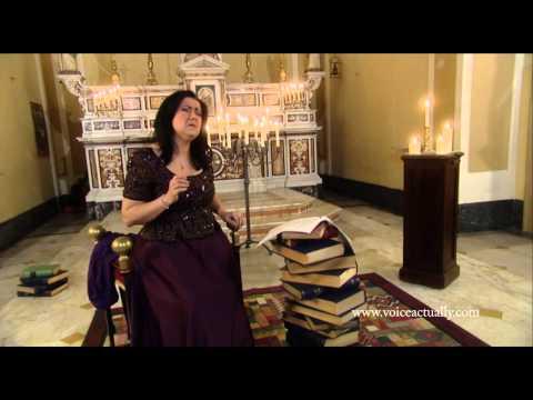 Carla Regina Voice Actually:  Terra mia- Pino Daniele