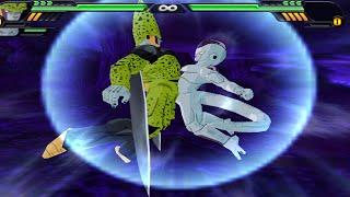 getlinkyoutube.com-Cell and Frieza Fusion | Freecell vs Goku GT / Super 17 / Piccolo DBZ Budokai Tenkaichi 3 (MOD)