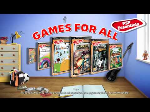 PSP Essentials - Top Games for Less