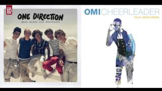 OMI x ONE DIRECTION - What Makes You A Beautiful Cheerleader (Felix Jahen Remix)