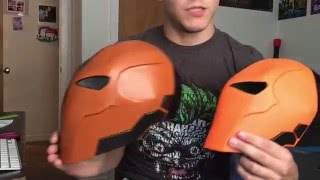 getlinkyoutube.com-Deathstroke Foam mask