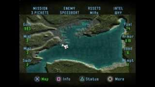 getlinkyoutube.com-SOVIET STRIKE - Mission 02: Black Sea Strike (PS1, SLUS-00061, Greatest Hits Series 1998)
