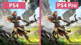 getlinkyoutube.com-4K UHD | Horizon Zero Dawn – PS4 vs. PS4 Pro 4K Mode Graphics Comparison