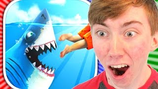 getlinkyoutube.com-HUNGRY SHARK WORLD :: NEW Hungry Shark Evolution Game! (iPhone Gameplay Video)