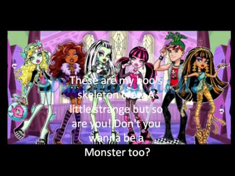 Monster High Theme Song Lyrics