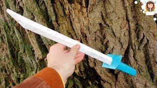 How to make a Paper Sword - (Japanese Samurai Sword)