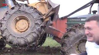 Fight Caterpillar 518 Vs Timberjack 380 B in Croatian