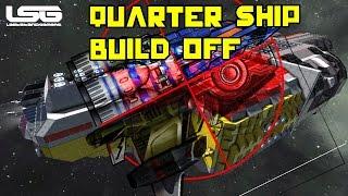 getlinkyoutube.com-Space Engineers - 4 Way Ship Build Quarter