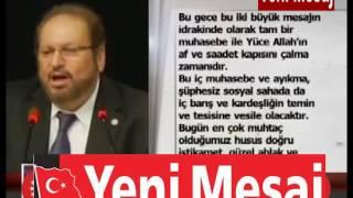 PROF. DR. HAYDAR BAŞ'IN KANDİL MESAJI
