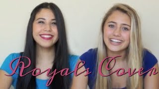 getlinkyoutube.com-Lorde - Royals cover by Lia and Charisma
