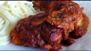 getlinkyoutube.com-Pollo en Adobo al Horno