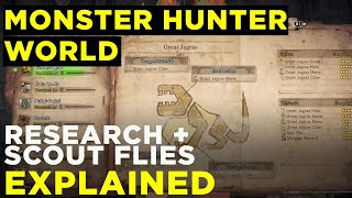 Monster Hunter World - Research Levels & Scout Flies Explained